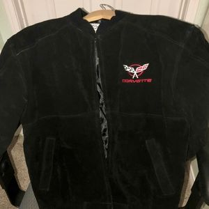 Corvette Black Suede Jacket S/M #001